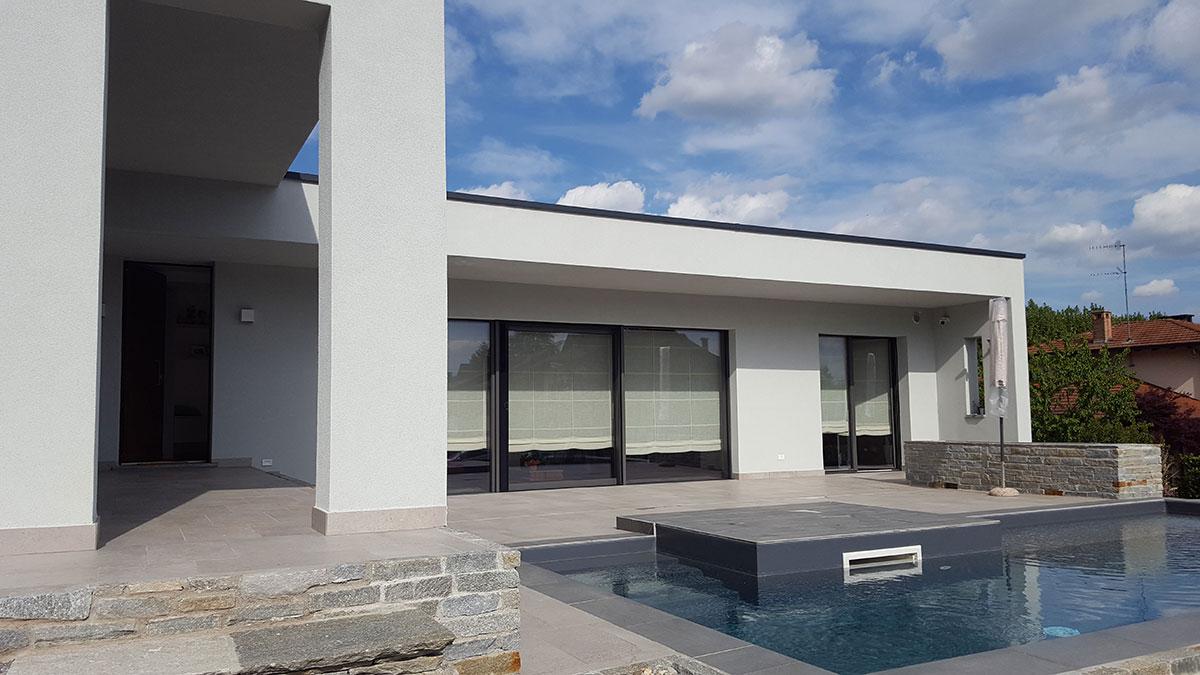 Villa Mercallo - Prospetto Sud-Ovest
