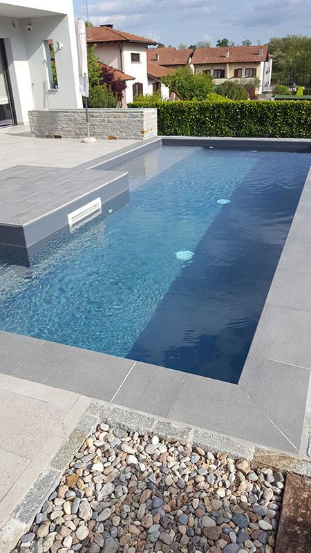 Villa Mercallo - Particolare piscina